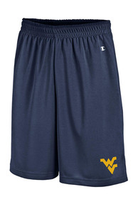 Champion West Virginia Mountaineers Navy Blue Mesh Shorts