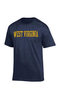 Champion West Virginia Mountaineers Navy Blue Rally Loud Tee
