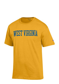 Champion West Virginia Mountaineers Gold Rally Loud Tee