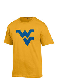 Champion West Virginia Mountaineers Gold Big Logo Tee