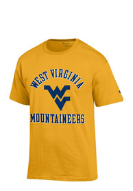 Champion West Virginia Mountaineers Gold #1 Tee