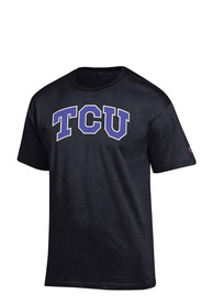 Champion TCU Horned Frogs Black Big Logo Tee