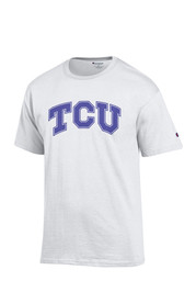 Horned Frogs Mens White Rally Loud Tee
