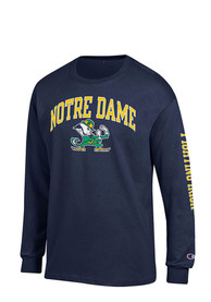 Champion Notre Dame Fighting Irish Navy Blue Name and Logo Tee