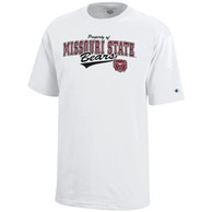Missouri State Bears Youth White White Out T-Shirt