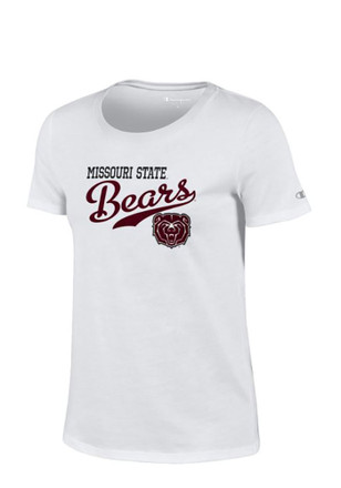 Missouri State Bears Womens University White T-Shirt