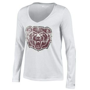 MO State Womens White University T-Shirt
