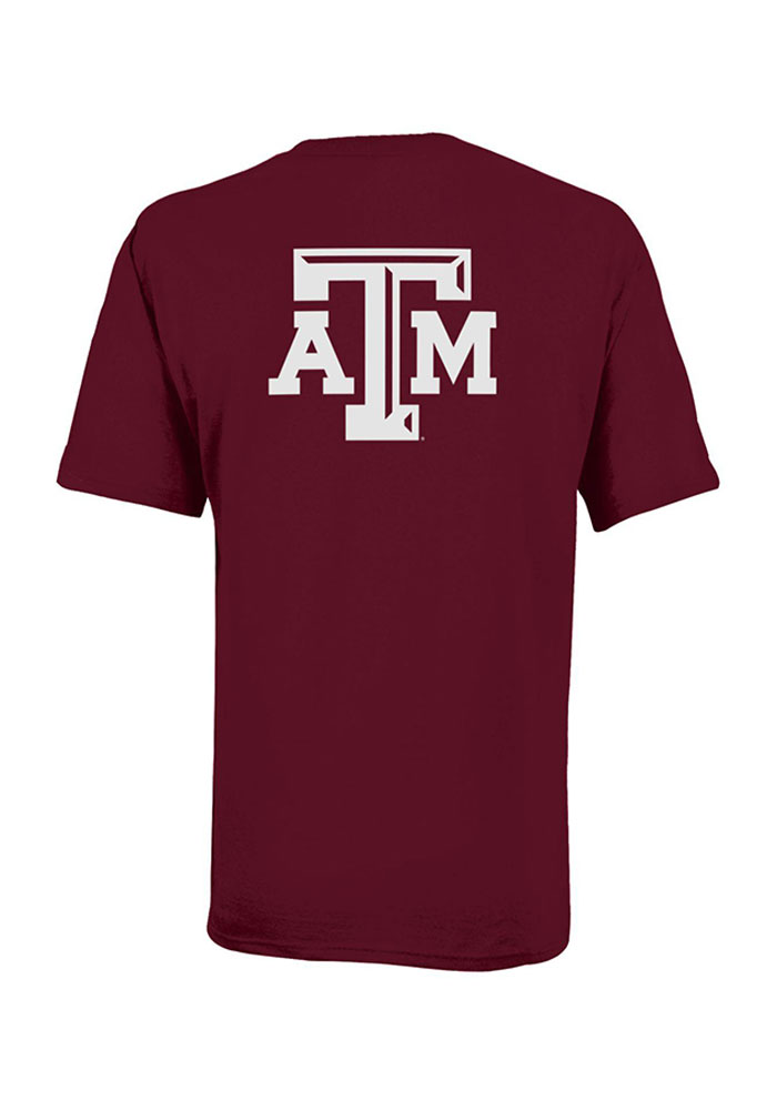 Texas A&M Aggies Youth Maroon Rally Loud Short Sleeve T-Shirt - Image 2