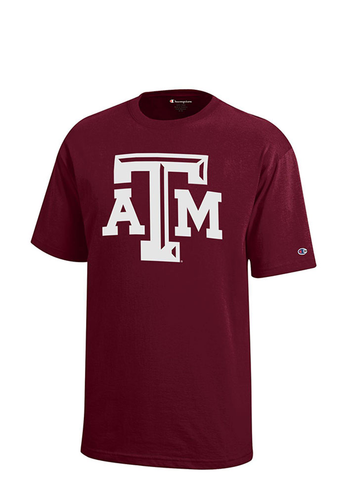 Texas A&M Aggies Youth Maroon Logo T-Shirt