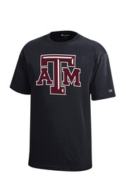 Texas A&M Aggies Kids Black Logo T-Shirt