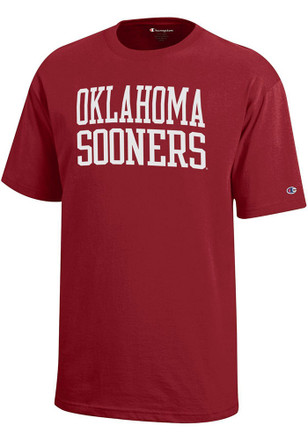 Oklahoma Sooners Kids Red Rally Loud T-Shirt