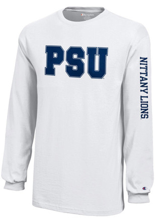 Penn State Nittany Lions Kids White Jersey T-Shirt