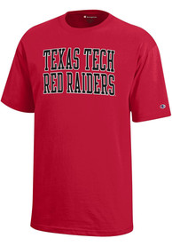 Texas Tech Red Raiders Youth Red Rally Loud T-Shirt