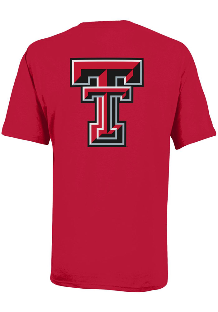Texas Tech Red Raiders Youth Red Rally Loud Short Sleeve T-Shirt - Image 2