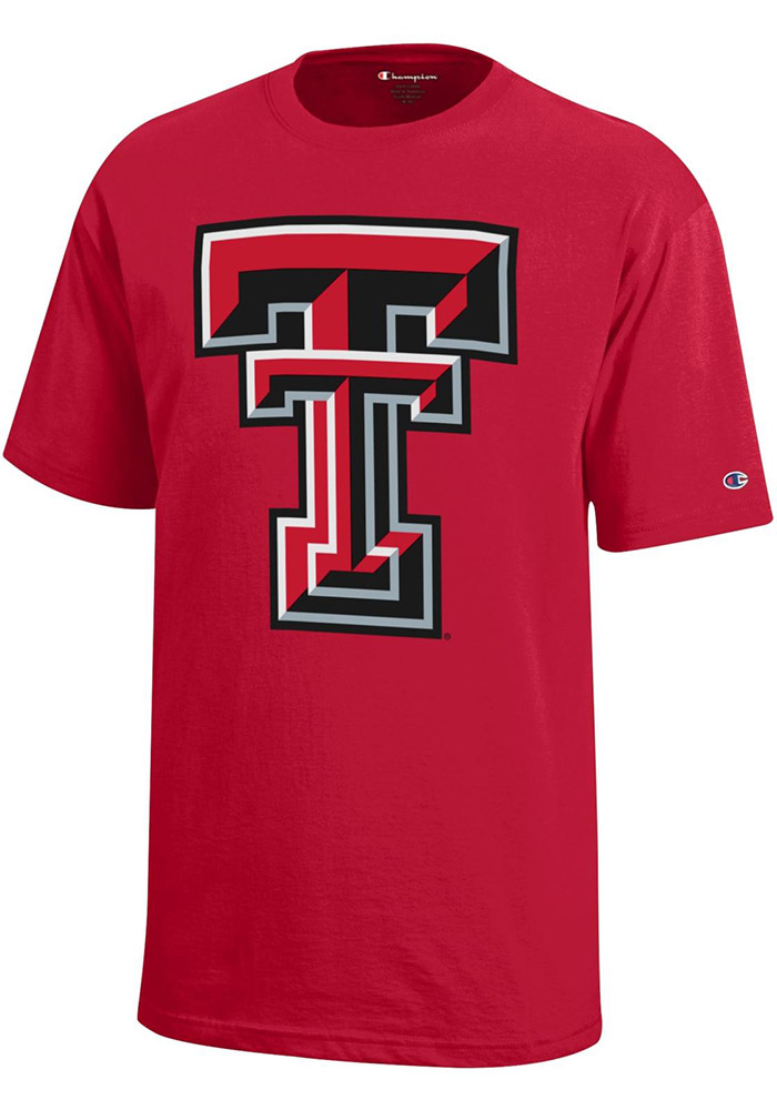 Texas Tech Red Raiders Youth Red Logo Short Sleeve T-Shirt - Image 1