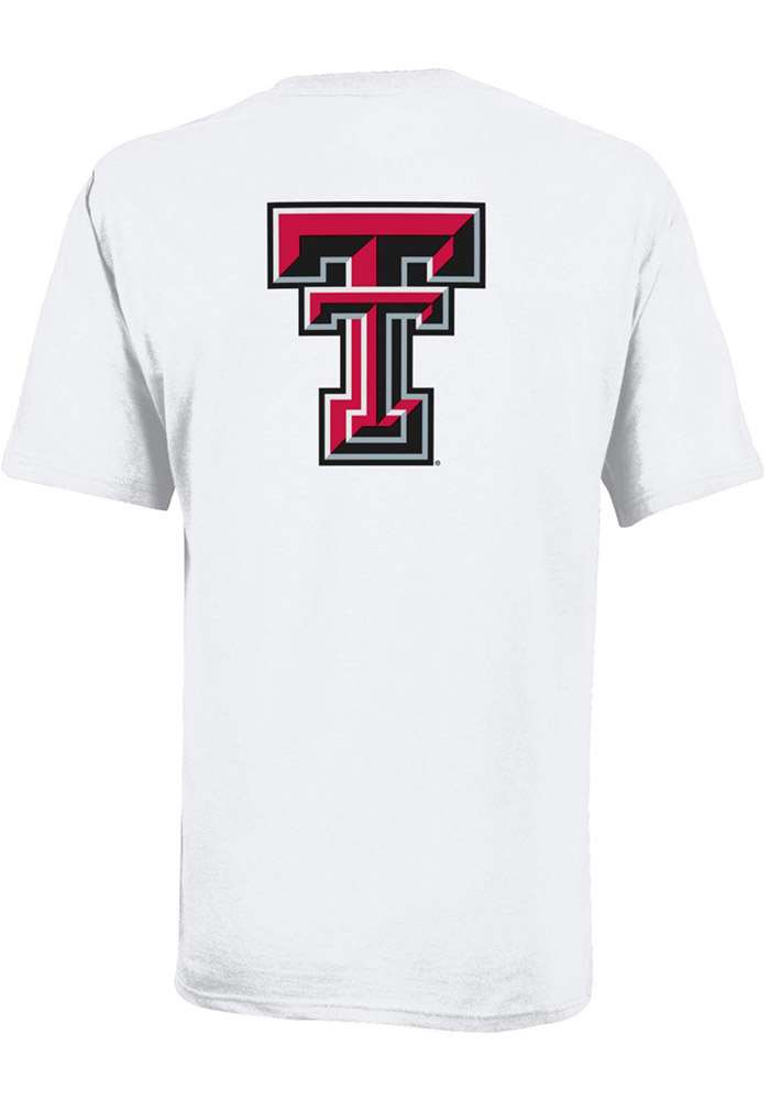 Texas Tech Red Raiders Youth White Rally Loud Short Sleeve T-Shirt - Image 2