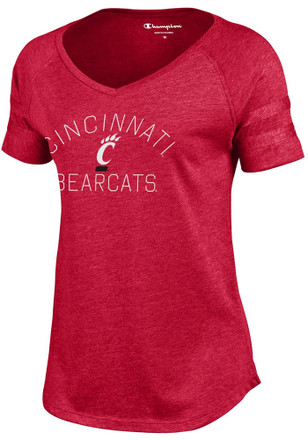 Cincinnati Bearcats Womens Red Triumph T-Shirt