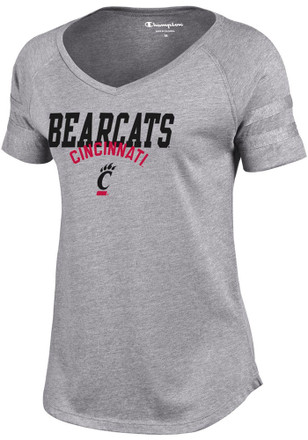 Cincinnati Bearcats Womens Grey Triumph T-Shirt