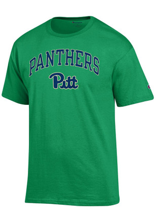 Panthers Mens Green Arch Mascot Tee
