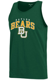 Champion Baylor Bears Green Arch Logo Tank Top