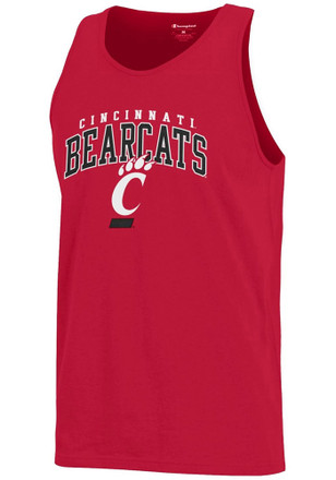 Cincinnati Bearcats Mens Red Arch Logo Tank Top
