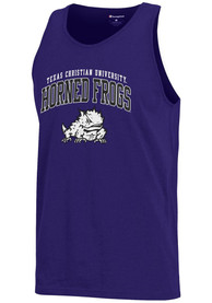 Champion TCU Horned Frogs Purple Arch Logo Tank Top