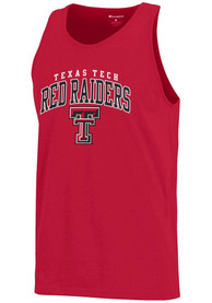 Champion Texas Tech Red Raiders Red Arch Logo Tank Top