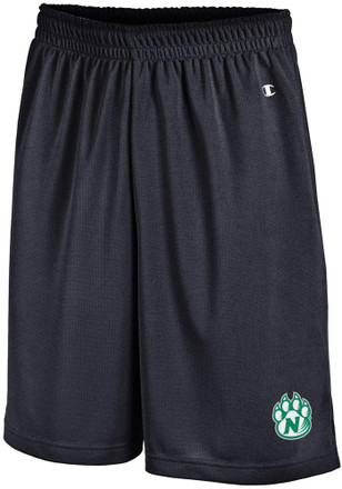 Northwest Missouri State Bearcats Mens Black Mesh Shorts