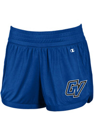 Grand Valley State Lakers Womens Champion Endurance Shorts - Blue