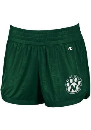 Northwest Missouri State Bearcats Womens Green Endurance Shorts
