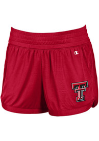 Texas Tech Red Raiders Womens Champion Endurance Shorts - Red