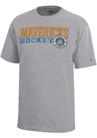 Kansas City Mavericks Youth Grey Circle T-Shirt