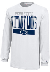 Penn State Nittany Lions Youth White Loud T-Shirt