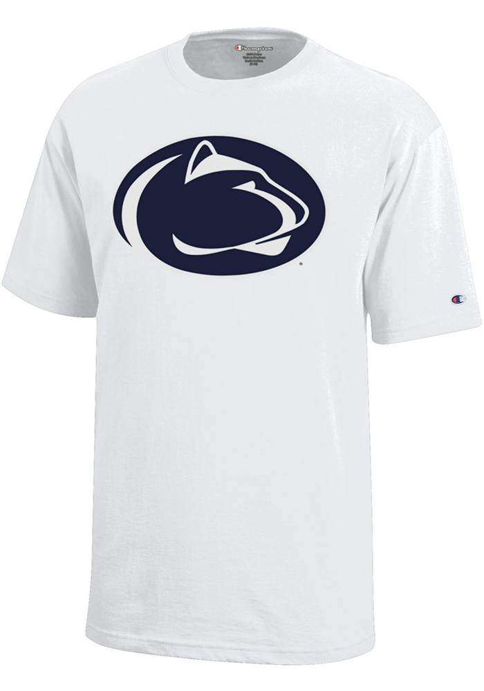 Penn State Nittany Lions Youth White Lion Short Sleeve T-Shirt - Image 1
