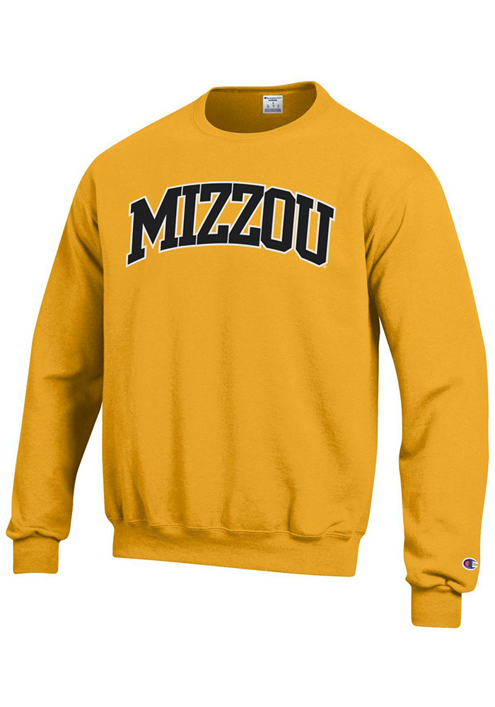 Champion Missouri Tigers Mens Gold Arch Sweatshirt