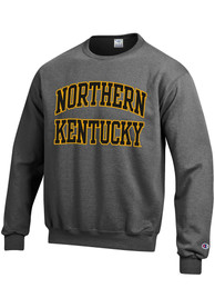 Northern Kentucky Norse Champion Arch Crew Sweatshirt - Charcoal