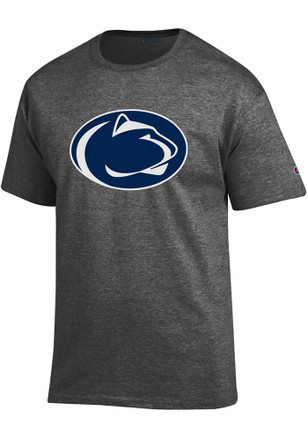 Penn State Nittany Lions Mens Grey Primary Logo Tee