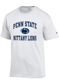 Champion Penn State Nittany Lions White #1 Design Tee
