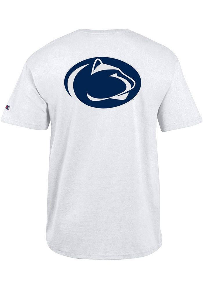 Champion Penn State Nittany Lions White Rally Loud Short Sleeve T Shirt - Image 2