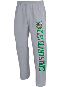 Cleveland State Vikings Champion Open Bottom Sweatpants - Grey