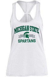 5862b89c30c222 Champion Michigan State Spartans Womens Green Swing Tank Top - 14752210