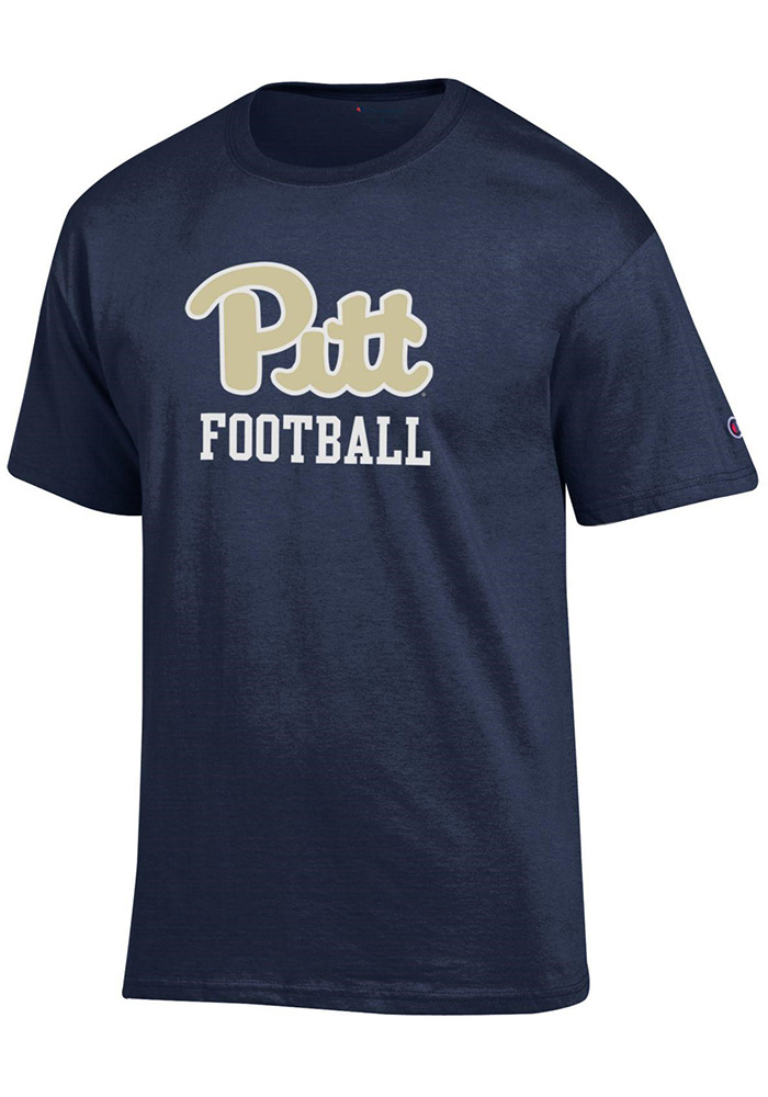 Champion Pitt Panthers Navy Blue Sport Specific Short Sleeve T Shirt - Image 1