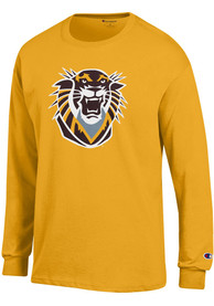 Champion Fort Hays State Tigers Gold PRIMARY LOGO Tee