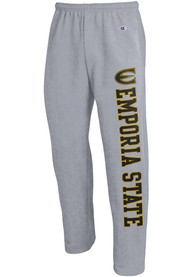 Emporia State Hornets Champion Open Bottom Sweatpants - Grey