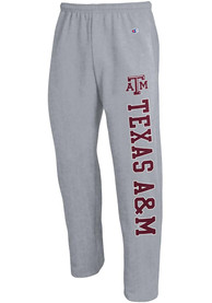 Texas A&M Aggies Champion Open Bottom Sweatpants - Grey