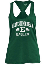 Eastern Michigan Eagles Womens Champion Swing Tank Top - Green