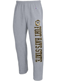 Fort Hays State Tigers Champion Open Bottom Sweatpants - Grey