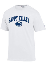 Champion Penn State Nittany Lions White Happy Valley Tee