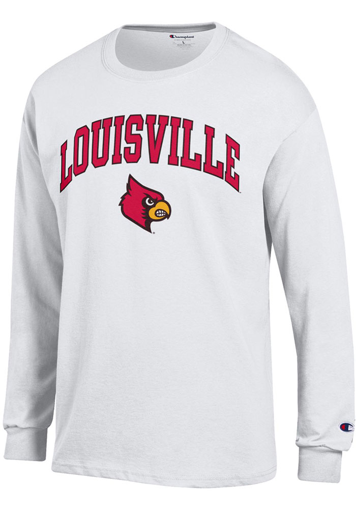 9a09a5c72 Champion Louisville Cardinals Red Mascot Tee