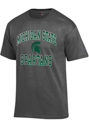Michigan State Spartans Champion Number One T Shirt - Charcoal